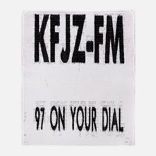 KFJZ-FM Throw Blanket