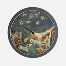 Giotto Lamentation Of Christ Wall Clock
