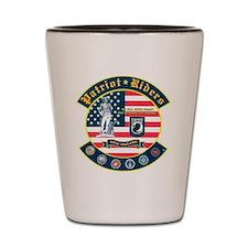 Patriot Riders NE Shot Glass