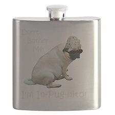 Funny In-Pug-nito! Pug Dog Flask
