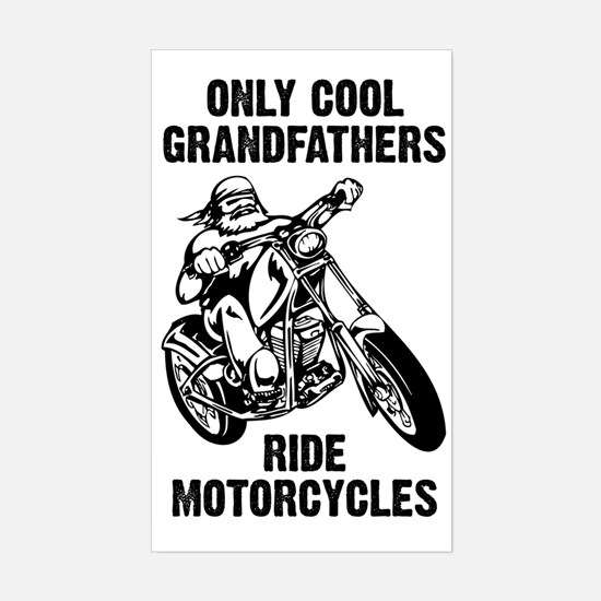 Cool Grandfathers Sticker (Rectangle)