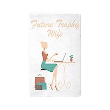 Future Trophy Wife 3'x5' Area Rug