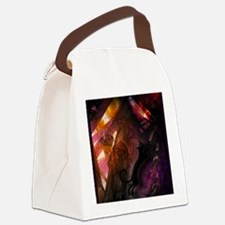 Cat and light in the attic - Canvas Lunch Bag