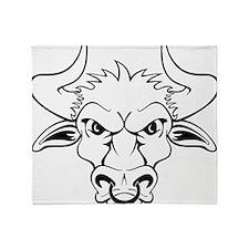 Bull Throw Blanket