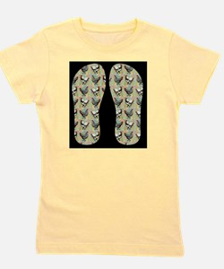 Vintage Chickens Girl's Tee