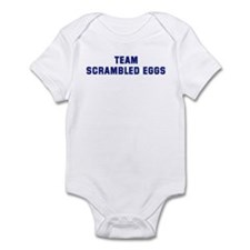 Team SCRAMBLED EGGS Infant Bodysuit