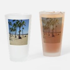 Waikiki Beach Drinking Glass