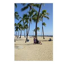 Waikiki Beach Postcards (Package of 8)