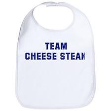 Team CHEESE STEAK Bib