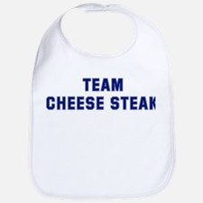 Team CHEESE STEAK Bib