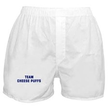 Team CHEESE PUFFS Boxer Shorts
