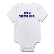 Team CHEESE CURL Infant Bodysuit