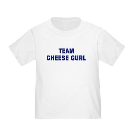 Team CHEESE CURL Toddler T-Shirt