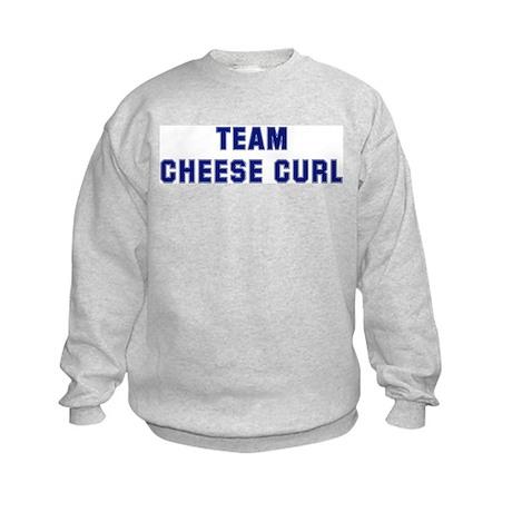Team CHEESE CURL Kids Sweatshirt