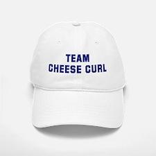 Team CHEESE CURL Baseball Baseball Cap