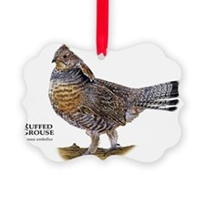 Ruffed Grouse Ornament