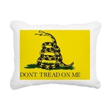 Big Gadsden Flag Rectangular Canvas Pillow
