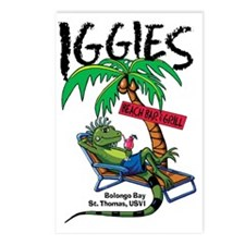 Iggie's Beach Bar Postcards (Package of 8)