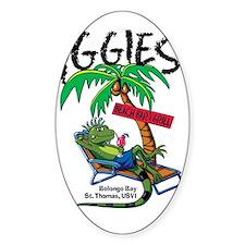 Iggie's Beach Bar Decal