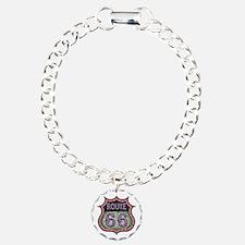 rt66-21613-T Charm Bracelet, One Charm