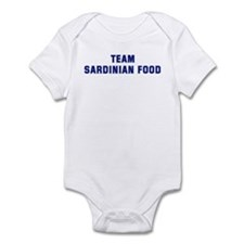 Team SARDINIAN FOOD Infant Bodysuit