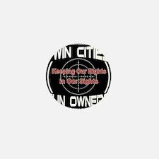 Twin Cities Gun Owners emblem Mini Button