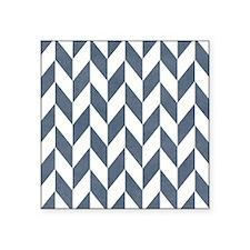 "Zigzag Pattern Square Sticker 3"" x 3"""