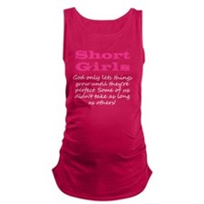 Short Girl (Colors) Maternity Tank Top