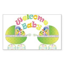 Welcome Baby Decal