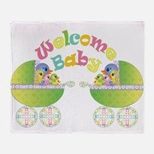 Welcome Baby Throw Blanket