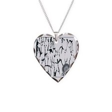 LC Warrior Necklace Heart Charm