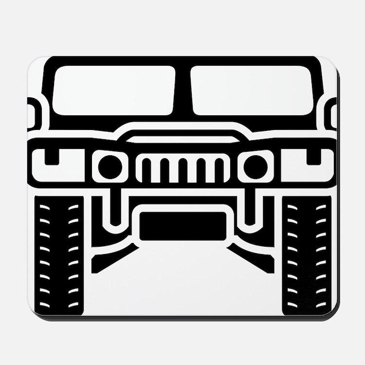 Hummer/Humvee illustration Mousepad