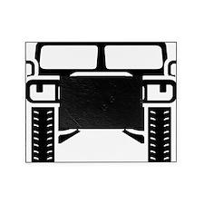 Hummer/Humvee illustration Picture Frame
