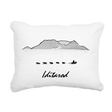 Iditarod Rectangular Canvas Pillow
