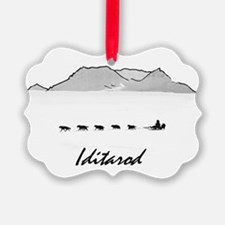 Iditarod Ornament