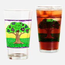 Adoption 101 Drinking Glass