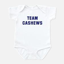 Team CASHEWS Infant Bodysuit