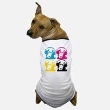 4 DJ monkeys Dog T-Shirt