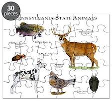 Pennsylvania State Animals Puzzle