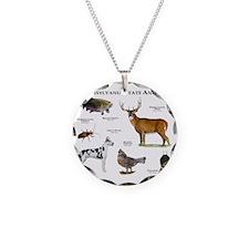 Pennsylvania State Animals Necklace