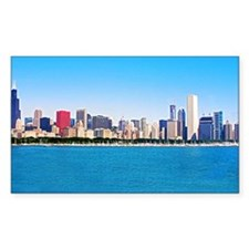 Chicago Daylight Skyline Decal