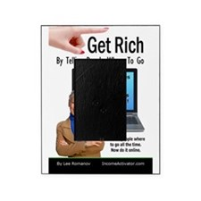 Get Rich Front Cover Picture Frame