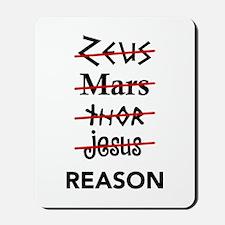 Zeus to Reason Mousepad
