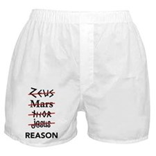Zeus to Reason Boxer Shorts