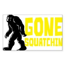 Gone Squatchin' Stickers