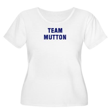 Team MUTTON Women's Plus Size Scoop Neck T-Shirt