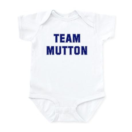 Team MUTTON Infant Bodysuit