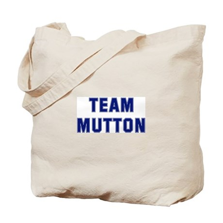 Team MUTTON Tote Bag