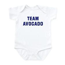 Team AVOCADO Infant Bodysuit