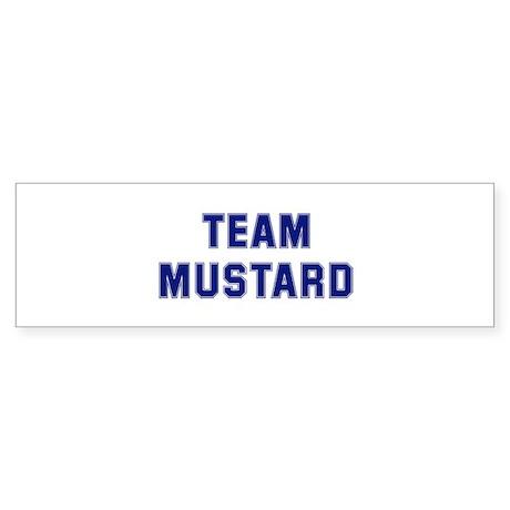 Team MUSTARD Bumper Sticker